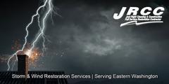 Storm Damage Restoration in Chelan Falls, WA