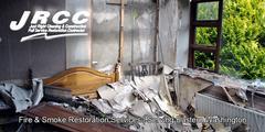 Fire Damage Restoration in Leahy, WA