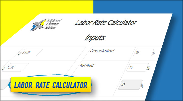 Online Labor Rate Calculator