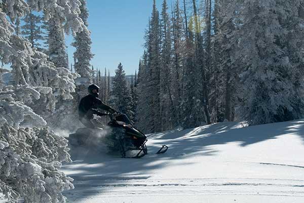 snowmobiling trails, Yukon trails