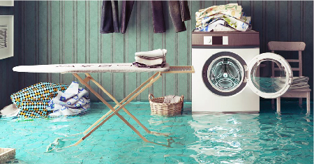 flooding from wash machine