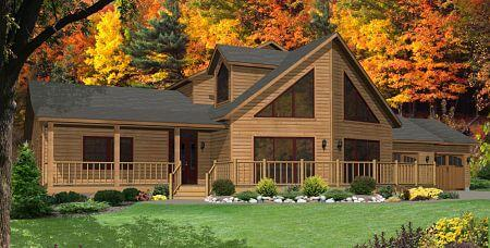 Timber Lodge Floor Plan