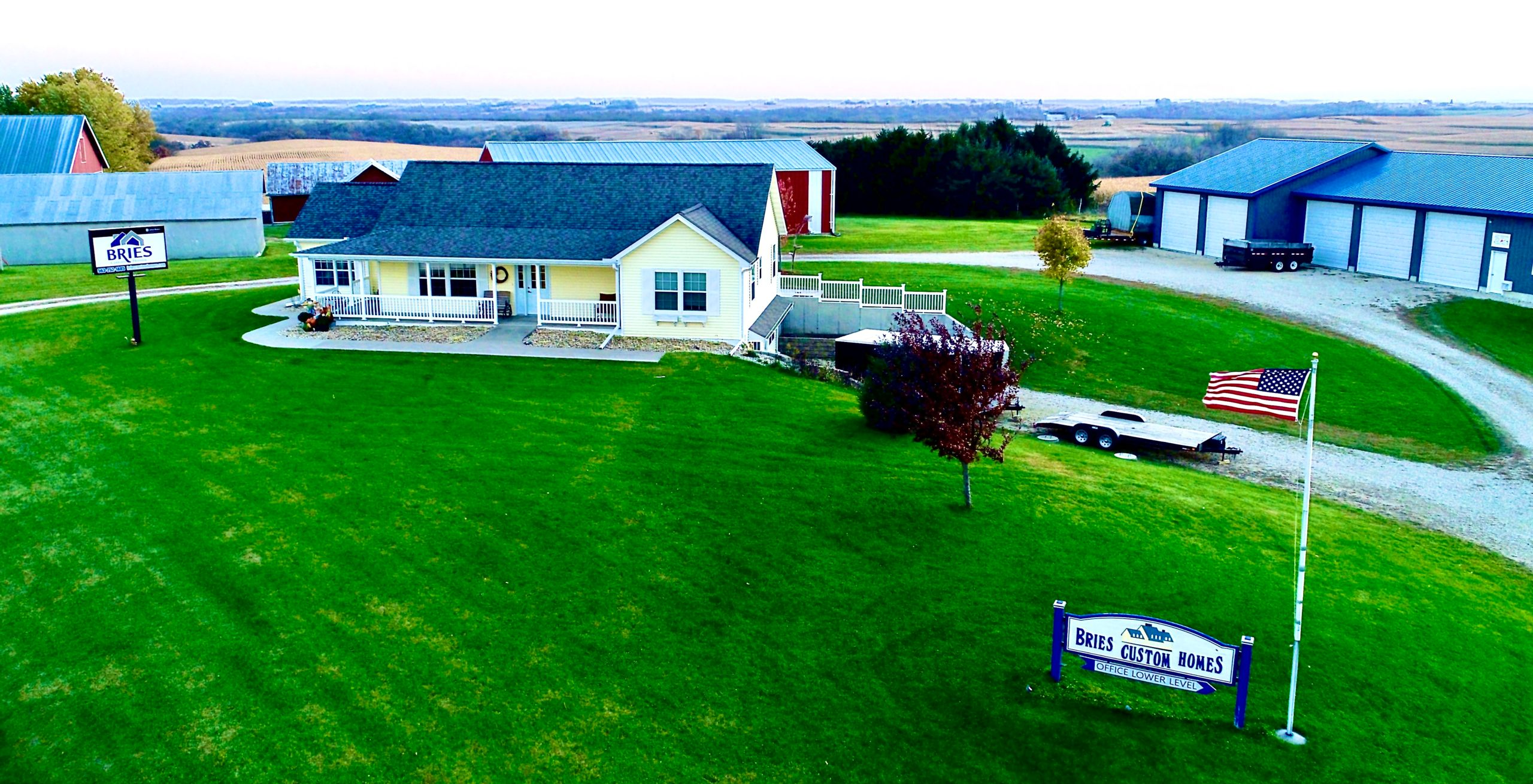 Log Home Builder in Guttenberg, IA