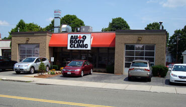 collision repair center in Reading, MA