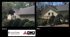 Damage Reconstruction in Peachtree Corners, GA