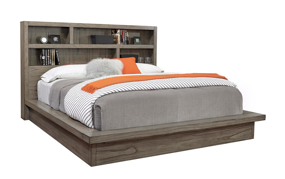 Modern Loft Platform Bed