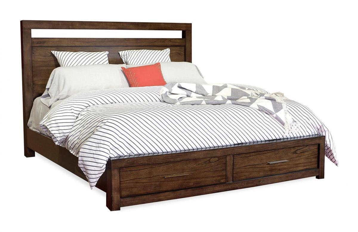 Modern Loft Panel Bed