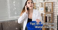 Water Damage Restoration Tips in Eden Prairie, MN