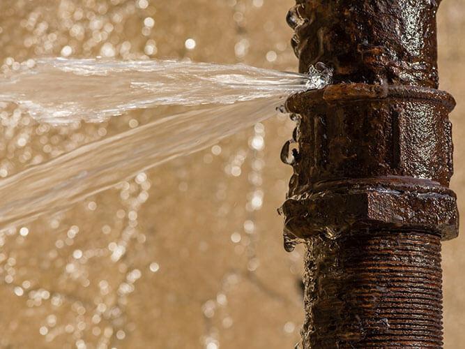 Broken Water Pipe Leak Repair and Cleanup in Brooklyn Park, MN