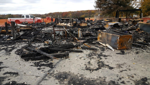 fire damage restoration in Mt Pleasant, WI