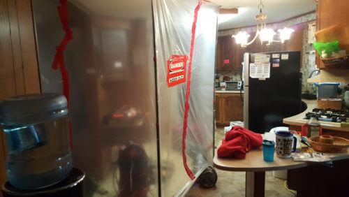 mold removal in Mt Pleasant, WI