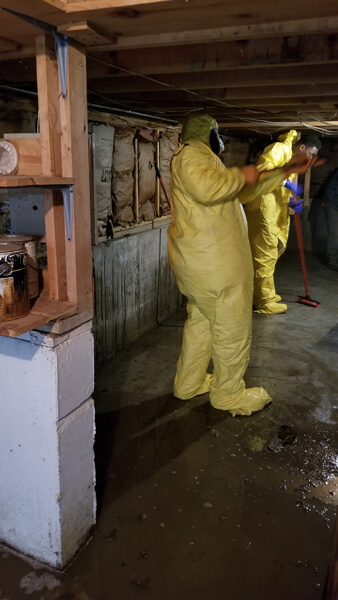sewage cleanup and removal in Mt Pleasant, WI