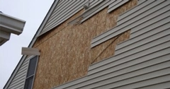 1st Call Disaster Receives a 5 Star Review for Quickly Replacing a Homeowner's Siding After a Storm!