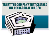 Trust the Company That Cleaned the Pentagon After 9/11