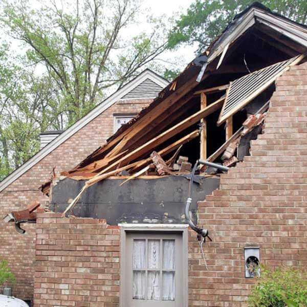 storm damage repair in Davidson, NC