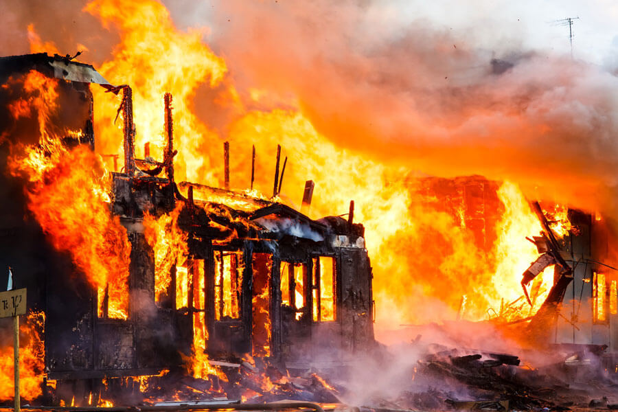commercial fire and smoke damage restoration in  Monroe County  New york
