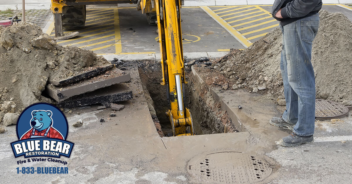 Sewer Backup Cleanup in Fairport, NY