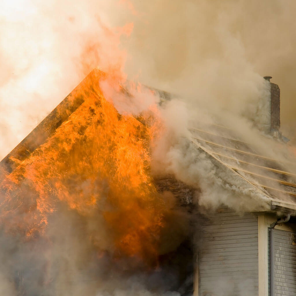 Fire Damage Repair in Borden, IN