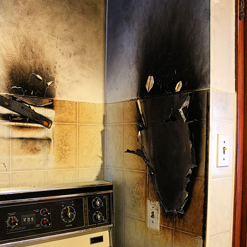 Smoke and Soot Damage Removal in Utica, IN