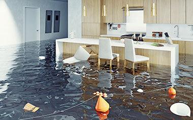 water damage in Seattle, WA