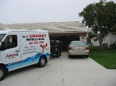 flood damage restoration in