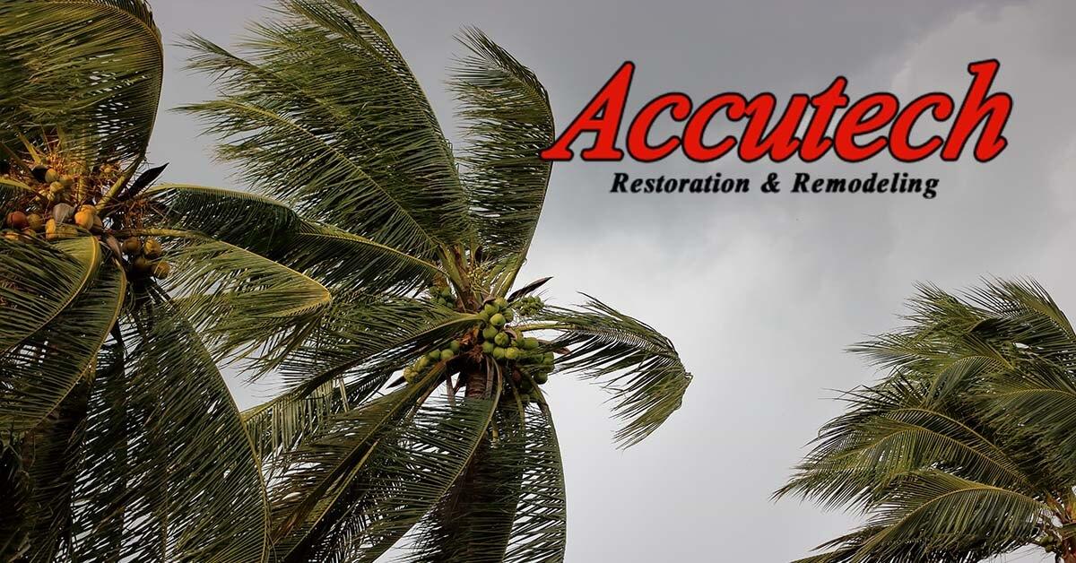 Wind Damage Restoration in Sarasota, FL