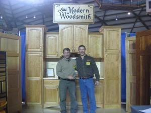 Best Single Booth – Modern Woodsmith