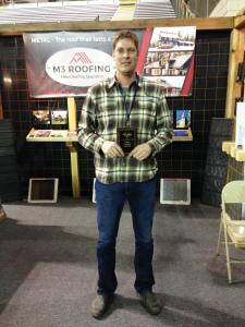 Best Single Booth – M3 Roofing