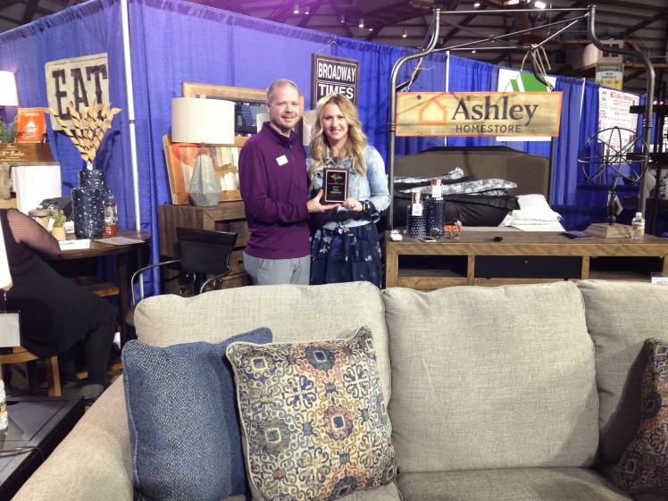 Top New Vendor – Ashley Homestore