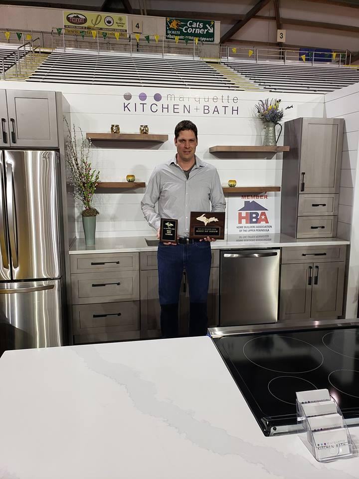 Marquette Kitchen & Bath – Top New Vendor & BEST OF SHOW!