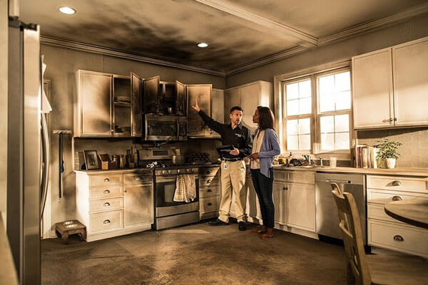 Fire and Smoke Damage Restoration in West Sacramento, CA