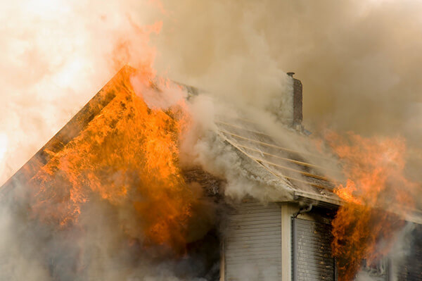 Fire Damage Restoration in Ingham County Michigan.