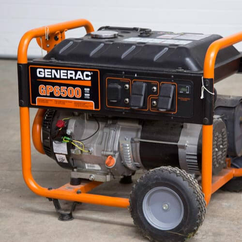 Generator Rental in Shiawassee County Michigan.
