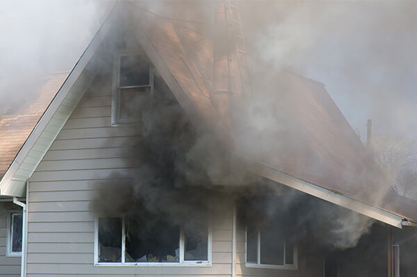 Smoke Damage Cleanup in Eaton County Michigan.