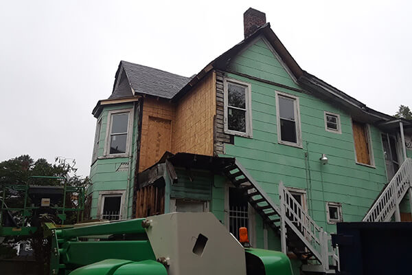 Damage Reconstruction in Richmond, VA