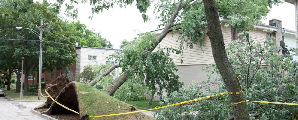 Storm Damage Restoration in Richmond, VA