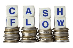 coins and cash flow