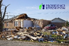 Storm Damage Restoration in Stallings, NC