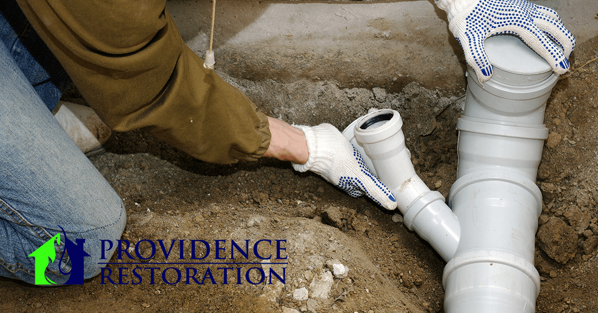 Sewer leak cleanup in Fairview, NC