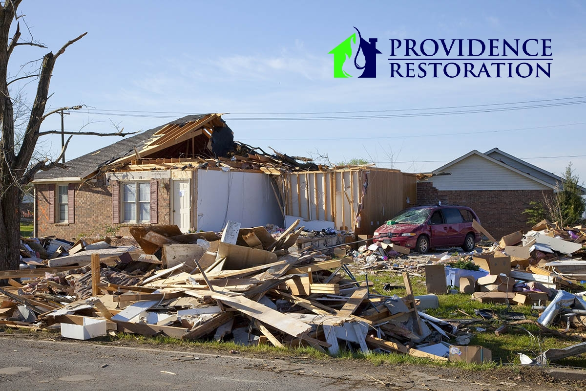 Wind Damage Restoration in Mint Hill, NC