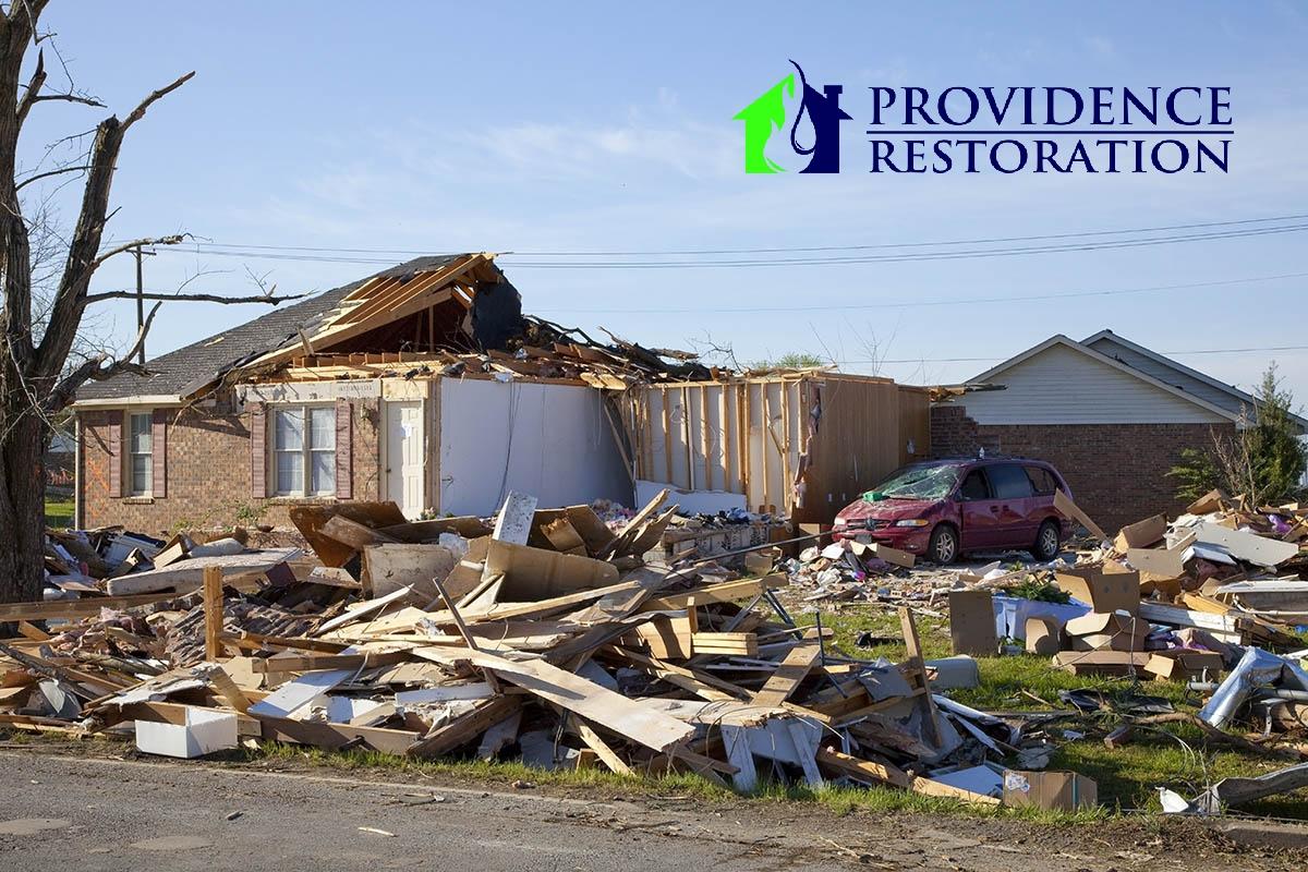 Storm Damage Restoration in Weddington, NC