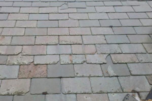 Slate Roof Claim