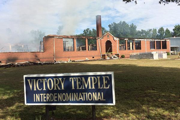 Church Fire Claim