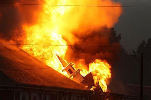 Church Fire Claim