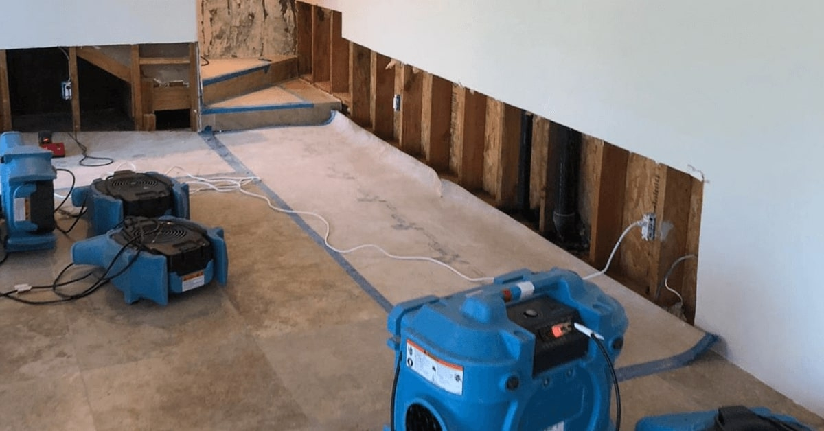 How Do We Dry Out Your Home After Water Damage