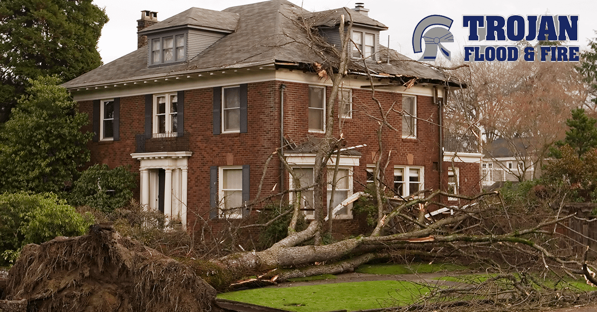 Trojan Flood & Fire Tornado Damage Restoration in Burr Ridge IL