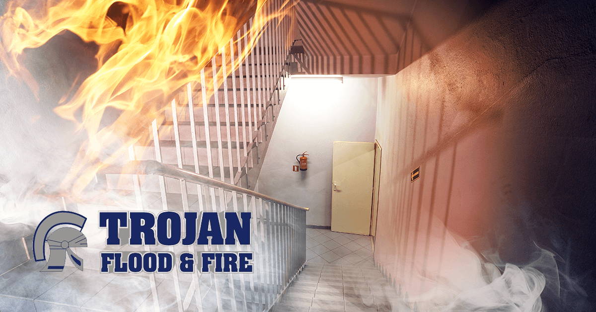 Trojan Flood & Fire Fire Damage Restoration in Markham IL