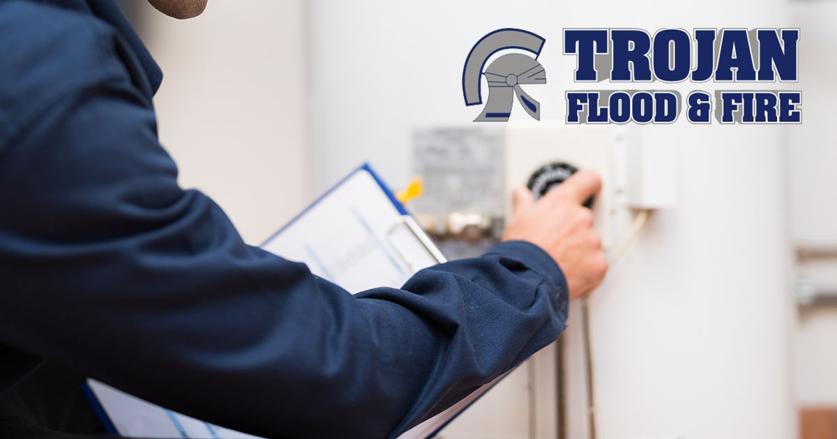 Exploded Water Pipe Repair and Cleanup in Elk Grove Village IL