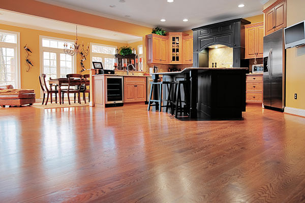 Hardwood Refinishing in Anytime Restoration Services Inc