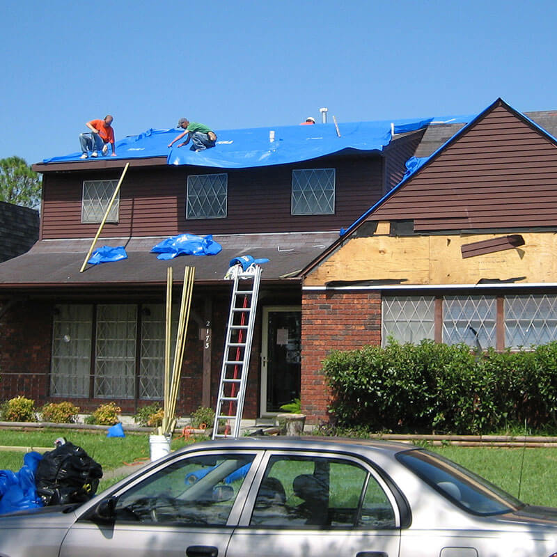 Storm Damage Repair and Restoration in Warren, MI
